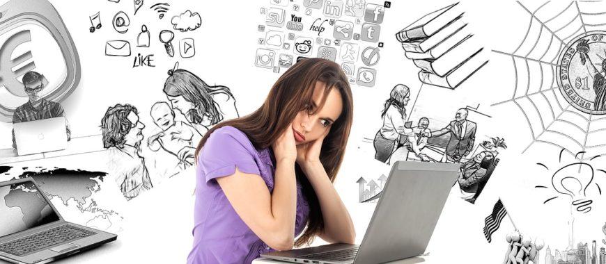 Multitaskaaminen ja jatkuva sähköinen tietotulva kuormittavat aivojamme