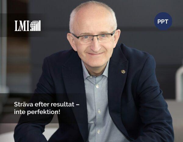 Proffs inom ledarutveckling i 60 år